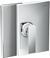 AXOR Edge Single Lever Shower Mixer for Concealed Installation - Diamond Cut-0