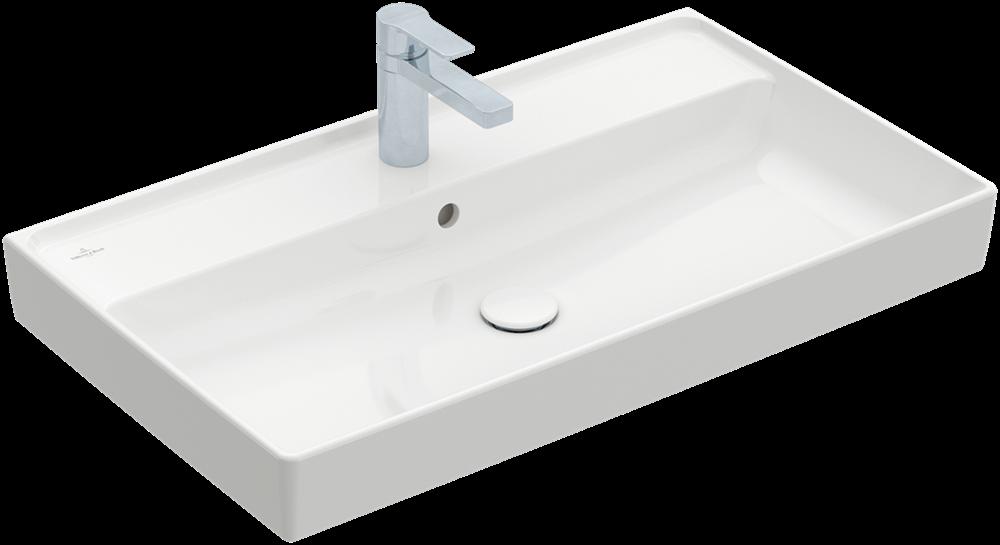 Collaro Vanity Washbasin 800 X 470 Mm Villeroy Amp Boch