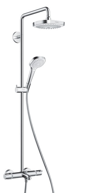 Bevorzugt Croma Select E 180 2Jet Showerpipe For Bath Tub - Hansgrohe KH56
